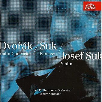 Dvorak/Suk - Violin Concerto/Romance/Fantasy/Fairy Tale [CD] USA import