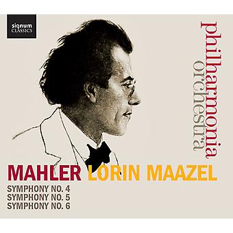 Mahler - Syms 4-6 [CD] USA import