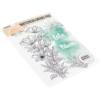 Karin Joan Blooming Collection Watercolor Pad A5-NR. 01