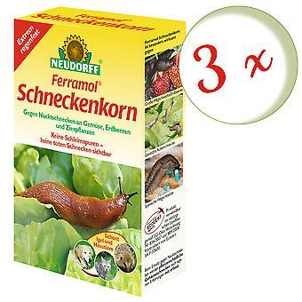 Sparset: 3 x NEWDORFF Ferramol® slakkenkorrel, 200 g