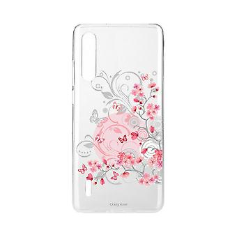Hull For Xiaomi Mi 9 Lite Myk Blomst Og Butterfly
