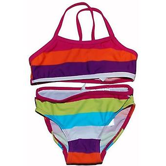 Name-it zummer mini/kids bikini strepen (Fuchsia)