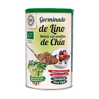Sprouted Ground Flax with Chia Seeds 300 g of powder