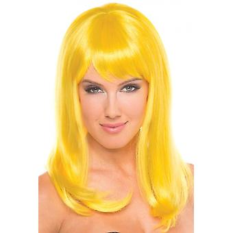 Hollywood Wig - Yellow