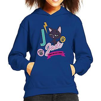 Littlest Pet Shop Jade Catitude Kid's Hooded Sweatshirt