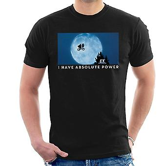 E.T. The Extra-Terrestrial Absolute Power Men's T-Shirt