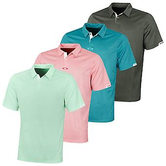 Oakley Herren 2020 Gravity 2.0 atmungsaktive SS Golf Polo Shirt