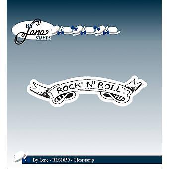 Av Lene Clearstamp Rock' N' Roll