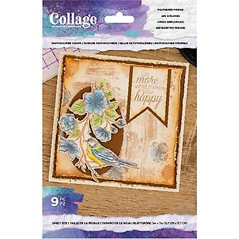 Crafter's Begleiter gefiederten Freund klare Briefmarken