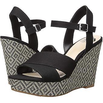 Fergalicious Women's Mollie Wedge Sandal