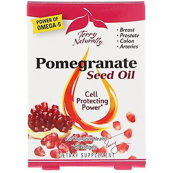 Terry Naturally, Pomegranate Seed Oil, 60 Softgels