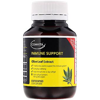 Comvita, Immune Support, Olive Leaf Extract, 60 Softgel Capsules