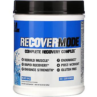 EVLution Nutrition, RECOVERMODE, Complete Recovery Complex, Blue Raz, 22,23 oz (