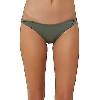 O & apos;NEILL Kvinnor's Strappy Twist Side Tab Hipster Bikini Baddräkt Botten, Oliv / ...