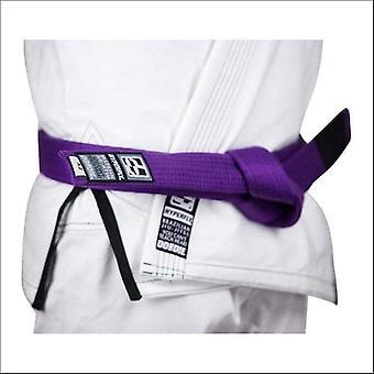 Hyperfly basic bjj gi belt purple