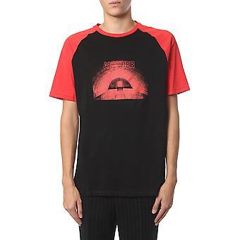 Neil Barrett Bjt632sm589s1076 Men's Black Cotton T-shirt