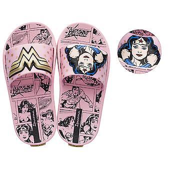 Ipanema Justice League Wonder Woman 3D Girls Slide / Sandal - Pink