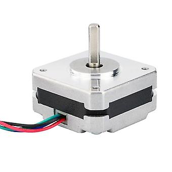 17 Stepper Motor, 17hs08-1004s 4-lead, Nema 20mm 1a 13ncm (18.4oz.in) 42 Motor