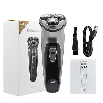 Xiaomi Electric Original Face Shaver- Enchen Blackstone 3d Electric Shaver Men Washable Usb Rechargeable Shaving Beard Machine