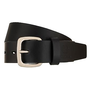Strellson Mr belt cowhide leather belt black 1375