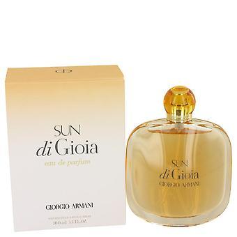 Sun di gioia eau de parfum spray بواسطة giorgio armani 100 ml