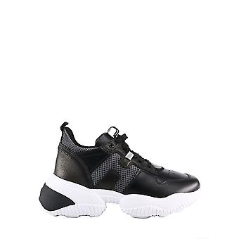 Hogan Hxw5250cw700kt384q Women's Black Polyester Sneakers