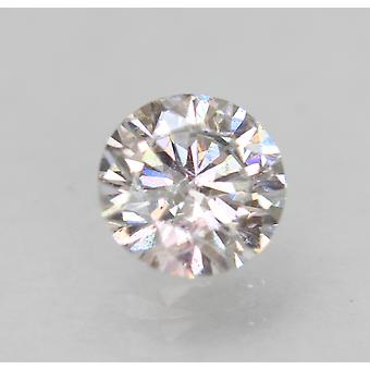 Zertifiziert 0.50 Karat G VS2 Round Brilliant Enhanced Natural Loose Diamond 5.08mm