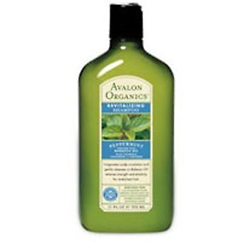 Avalon Organics Shampoo Bio Revitalisieren, Pfefferminze 11 Oz