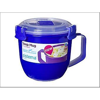 Sistema Soup To Go Mug Assorted 565ml 18021142
