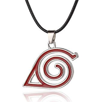 Naruto Cosplay Symbol Necklace Anime Props Accessories Men Women