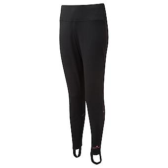 Ronhill Core Trackster Womens Slim Running Pants/trousers All Black