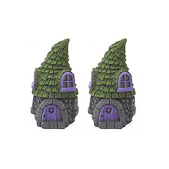 Pixieland secreto jardín de hadas conifer casa