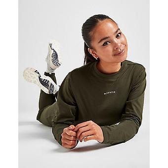 New McKenzie Women's Essential Long Sleeve T-Shirt Green