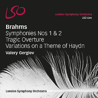 J. Brahms - Brahms: Symphonies Nos. 1 & 2; Tragic Overture; Variations on a Theme of Haydn [SACD] USA import