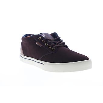 Etnies Jameson Mid  Mens Brown Skate Inspired Sneakers Shoes