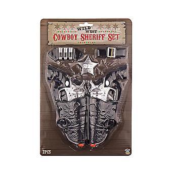 Arma de cowboy com crianças coldre