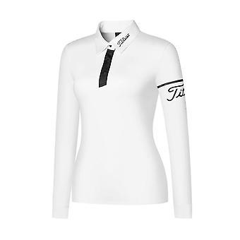 Női golf hosszú ujjú őszi sportpóló-ing