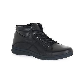 Lumberjack black high cut boots / boots