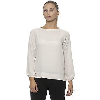 Valkoinen Pullover Alpha Studio Naiset