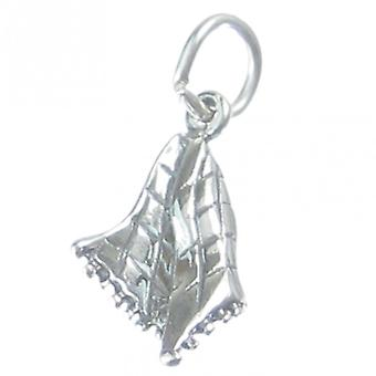 Baby Blanket Sterling Silver Charm .925 X 1 Babies Blankets Charms - 3280