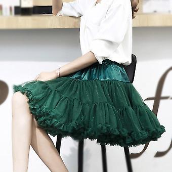 Pallo puku underskirt swing lyhyt mekko, Lolita Cosplay Alushame baletti