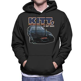 Knight Rider KITT The Original Smart Car Men's Hooded Sweatshirt