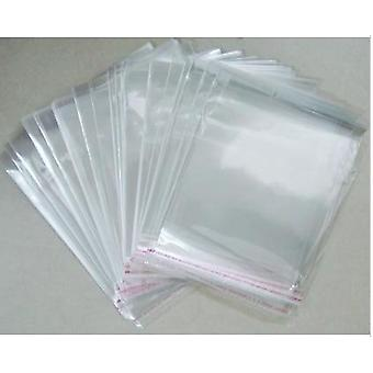 Double Layer Opp Stickers Self Adhesive Transparent Plastic Bag, Jewelry