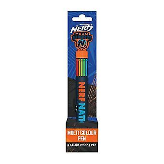 Nerf Nation 8-in-1 Multi-Colour Pen