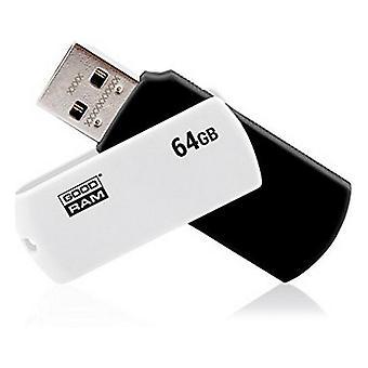 2-pack, Minnessticka GoodRam USB 2.0 64gb