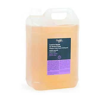 Liquid detergent with Aleppo soap - Jasmine 5 L