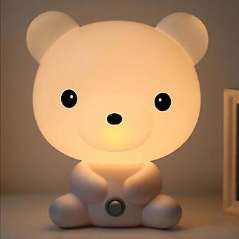 لنا / eu المكونات قراءة مصابيح الطاولة الطفل غرفة الباندا تحمل الرسوم المتحركة الحيوان ضوء مصابيح الديكور لغرفة نوم مكتب الاطفال هدية