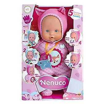 Babydukke nenuco lille ræv famosa (30 cm) pink