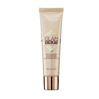 L'Oreal Glam beige Healthy Glow Foundation