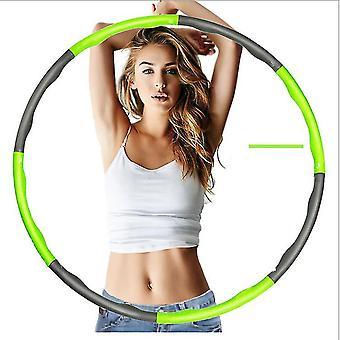 الأخضر المرجح هولا هوب البطن ممارس اللياقة البدنية الأساسية قوة هوولا